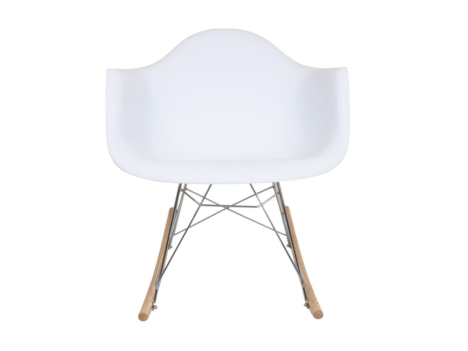 Кресло-качалка SpacerКресла-качалки<br>Пластиковое кресло-качалка c подлокотниками на металлических ножках с деревянными дугообразными основаниями.<br><br>Material: Пластик<br>Width см: 69<br>Depth см: 69<br>Height см: 68