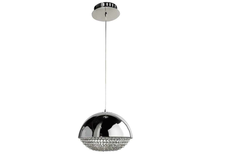 Светильник подвеснойПодвесные светильники<br>MW-LIGHT Фортер вызывает однозначные ассоциации с эпохой диско. К основанию на потолке прикреплен тонкий металлический трос, на котором висит полусфера из идеально гладкого металла серебристого цвета. Нижняя половина шара «восстановлена» элементами из стекла, скрепленными воедино, чтобы создать иллюзию завершенности формы шара. Идеальна для помещений 12 кв.м. Подойдет для выделения определенной зоны квартиры, если же использовать несколько светильников в ряд, они станут отличным украшением гостиной или столовой в стиле модерн. Блестящая металлическая поверхность переливается, отражая свет.Современный дизайн светильника из коллекции Фортер, стильTechno имеет стилизованные черты эпатажного предмета, подходящего для освещения современных интерьеров, выполненных в стилях Hi-tech и Минимализм. Хромированный металлический абажур на подвесе, длина которого удобно регулируется, декорирован гламурными нитями прозрачного хрусталя. Такая люстра блистательно осветит интерьерное пространство до 15 м2, а так же, будет превосходным источником зонального света. В плафоне установлены диоды нового поколения, сила светового потока которых равна 2700 люменов, при этом энергопотребление ниже в 8 раз в сравнении с лампами накаливания! Несмотря на высокие параметры освещения, такая люстра является по своим техническим свойствам очень Eкoномичным вариантом освещения. Светильник Фортер - это идеальное сочетание современного стиля и продвинутых Eкoномичных технологий!&amp;lt;div&amp;gt;&amp;lt;br&amp;gt;&amp;lt;/div&amp;gt;&amp;lt;div&amp;gt;&amp;lt;div&amp;gt;Вид цоколя: LED&amp;lt;/div&amp;gt;&amp;lt;div&amp;gt;Мощность: 5W&amp;lt;/div&amp;gt;&amp;lt;div&amp;gt;Количество ламп: 6&amp;lt;/div&amp;gt;&amp;lt;div&amp;gt;&amp;lt;br&amp;gt;&amp;lt;/div&amp;gt;&amp;lt;div&amp;gt;Материал: Металл, хрусталь&amp;lt;/div&amp;gt;&amp;lt;div&amp;gt;&amp;lt;br&amp;gt;&amp;lt;/div&amp;gt;&amp;lt;div&amp;gt;&amp;lt;br&amp;gt;&amp;lt;/div&amp;gt;&amp;lt;/div&am