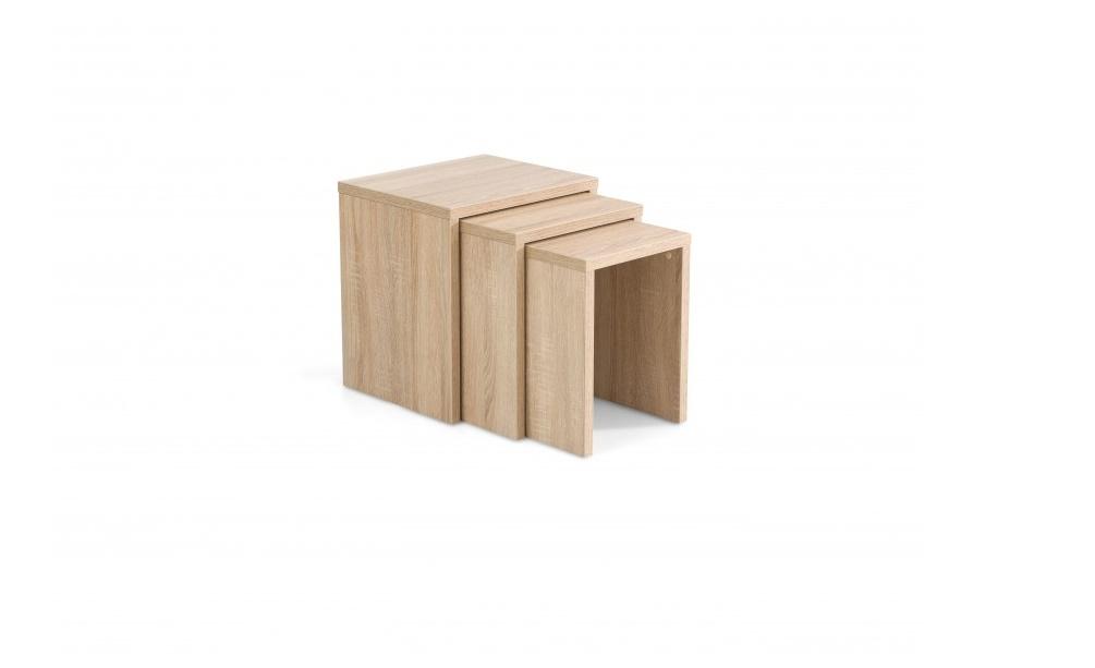 Набор столов PIKOLO (3шт)Приставные столики<br>Уникальный и минималистский дизайн, элегантного вида, содействовали успеху журнального стола Pikolo и он стал одним из самых любимых продуктов наших покупателей. У журнальных столов Pikolo есть 3 части, которые легко приспособляются ко всем пространствам. Можете поставить в гостиной, детской, а также и в офисах. Этот стол изготовлен из ЛДСП толщиной 25мм и 18мм.&amp;lt;div&amp;gt;&amp;lt;br&amp;gt;&amp;lt;/div&amp;gt;&amp;lt;div&amp;gt;Размеры:&amp;amp;nbsp;&amp;lt;span style=&amp;quot;line-height: 1.78571;&amp;quot;&amp;gt;1) 38x45x48 2)36x39x45 3)34x32x42&amp;lt;/span&amp;gt;&amp;lt;/div&amp;gt;<br><br>Material: ДСП<br>Width см: 38<br>Depth см: 45<br>Height см: 48