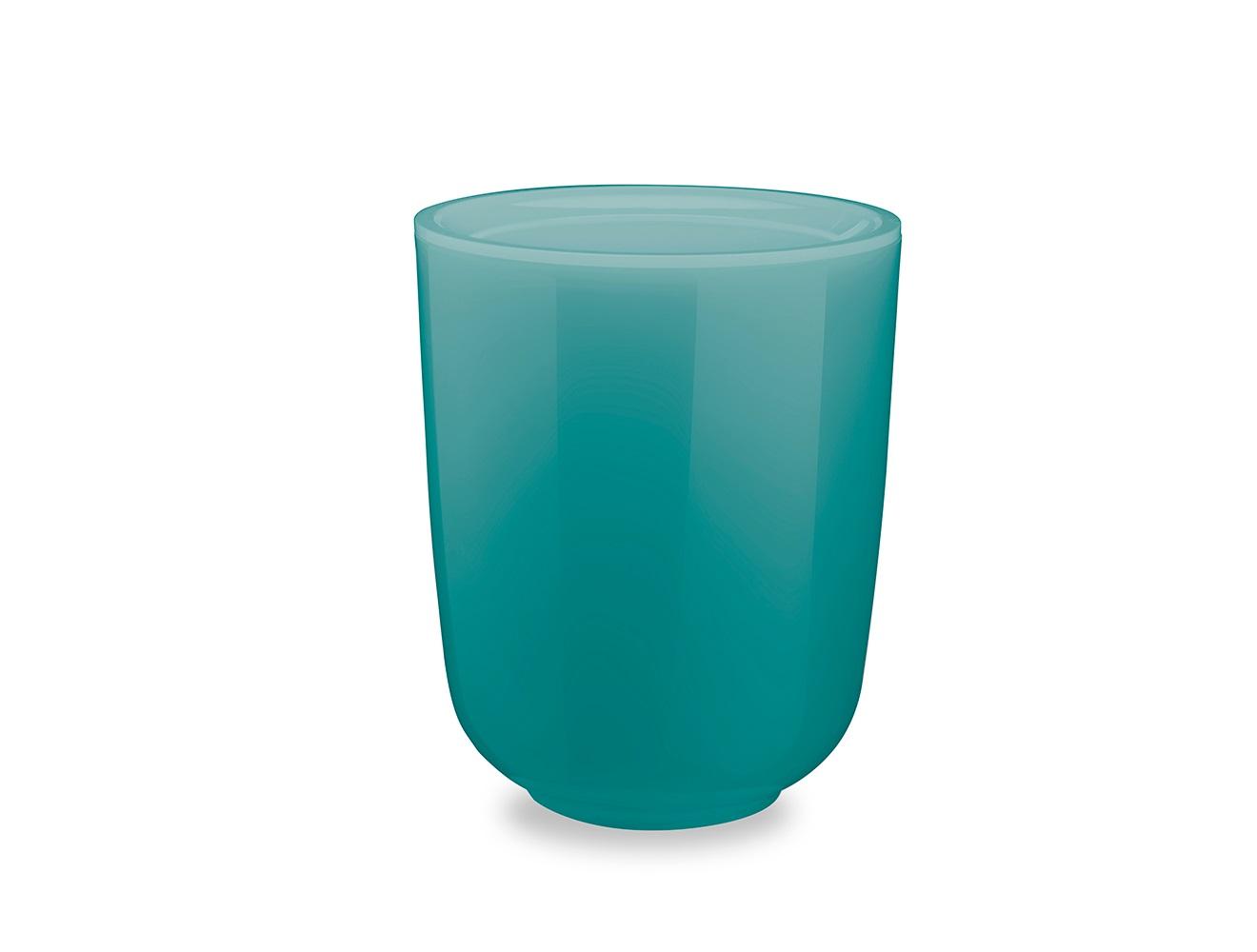 Корзина для мусора dropletЕмкости для хранения<br>Серию аксессуаров для ванной Droplet характеризуют плавные линии, прозрачные материалы и мягкие цвета.  Благодаря современным технологиям, аксессуары выглядят как стеклянные, но при этом прочные и небъющиеся. Мусорная корзина с крышкой для ванной  Droplet из прозрачного акрила поможет сохранять чистоту, и при этом украсит ванную комнату благодаря своему стильному дизайну.<br><br>Design: Michelle Ivankovic<br><br>Material: Акрил<br>Height см: 19,6<br>Diameter см: 24,8