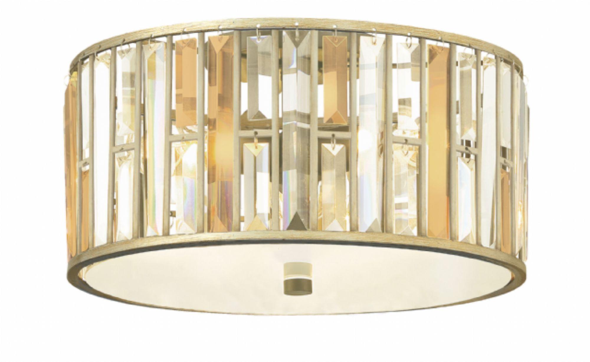 Потолочный светильник Hinkley LightingПотолочные светильники<br>&amp;lt;div&amp;gt;Материалы: металл, хрусталь&amp;lt;br&amp;gt;Цвет: сусальное серебро&amp;lt;div&amp;gt;Вид цоколя: Е27&amp;lt;/div&amp;gt;&amp;lt;div&amp;gt;Мощность лампы: 100W&amp;lt;/div&amp;gt;&amp;lt;div&amp;gt;Количество ламп: 3&amp;lt;/div&amp;gt;&amp;lt;div&amp;gt;Наличие ламп: нет&amp;lt;/div&amp;gt;&amp;lt;/div&amp;gt;<br><br>Material: Металл<br>Height см: 29,2<br>Diameter см: 50,8