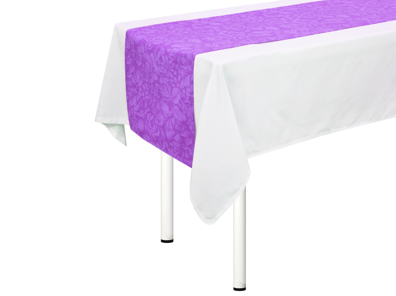 "T&I Дорожка на стол ""Lorret Violet"""