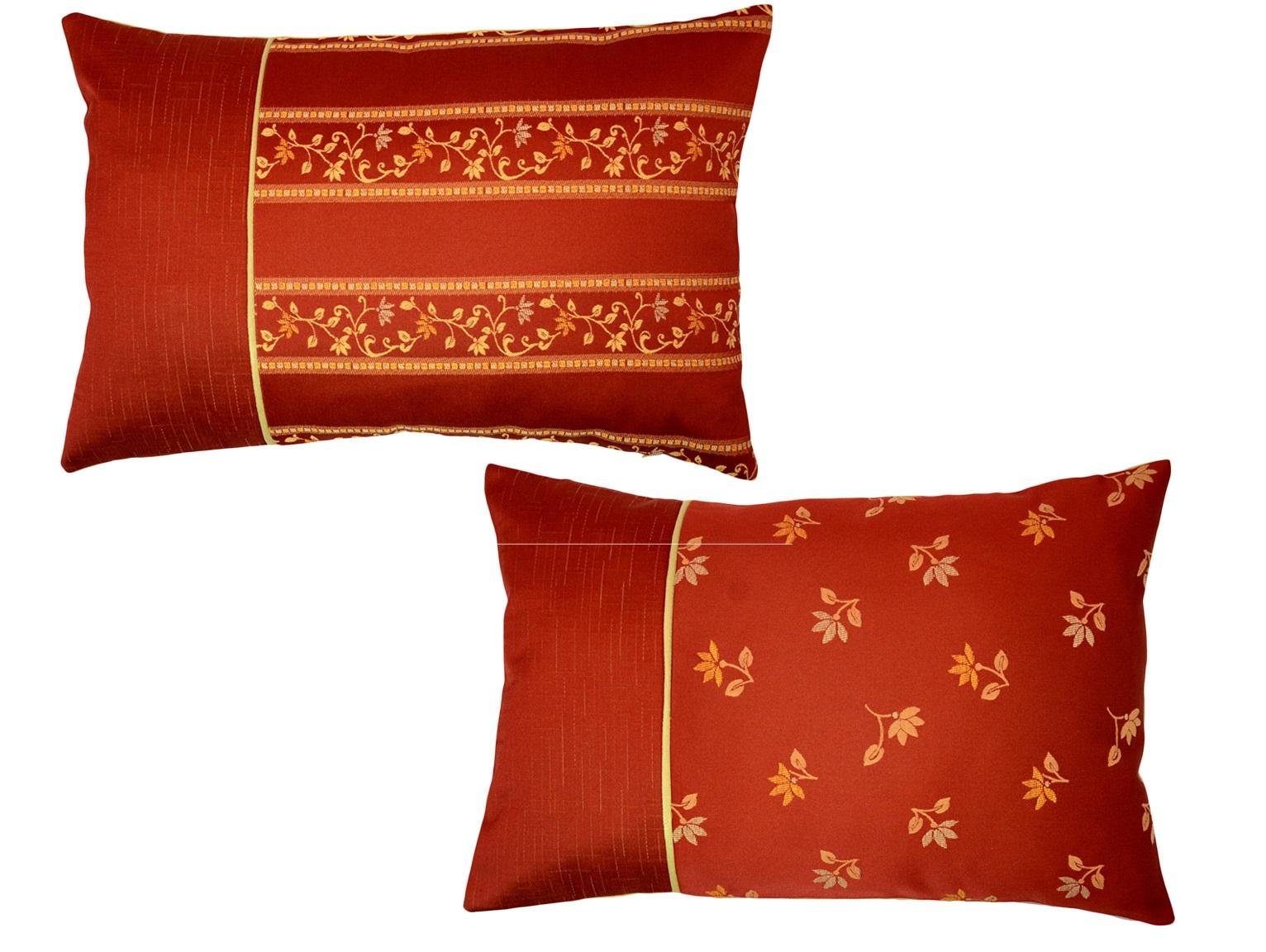 Комплект подушек Cornelia Red (2шт)Прямоугольные подушки<br>Комплект декоративных  подушек. Чехол съемный.<br><br>Material: Вискоза<br>Length см: None<br>Width см: 55<br>Depth см: 15<br>Height см: 35