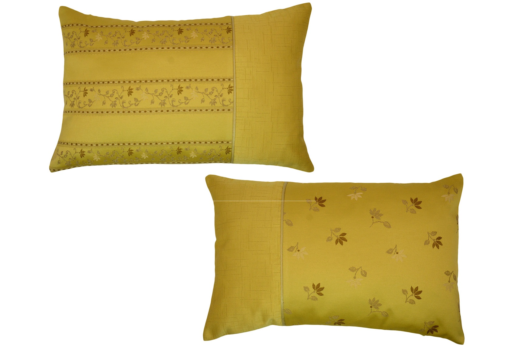 Комплект подушек Cornelia Yellow (2шт)Прямоугольные подушки и наволочки<br>Комплект декоративных  подушек. Чехол съемный.<br><br>Material: Вискоза<br>Length см: None<br>Width см: 55<br>Depth см: 15<br>Height см: 35