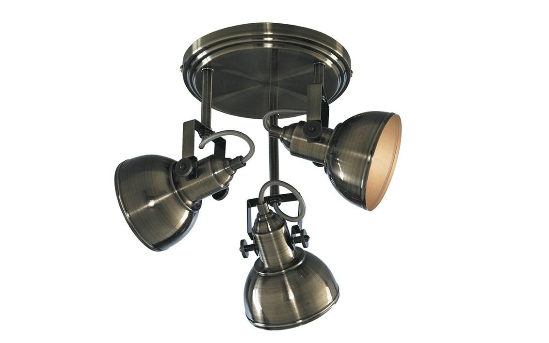 Светильник потолочныйСпоты<br><br><br>Material: Металл<br>Height см: 27<br>Diameter см: 30