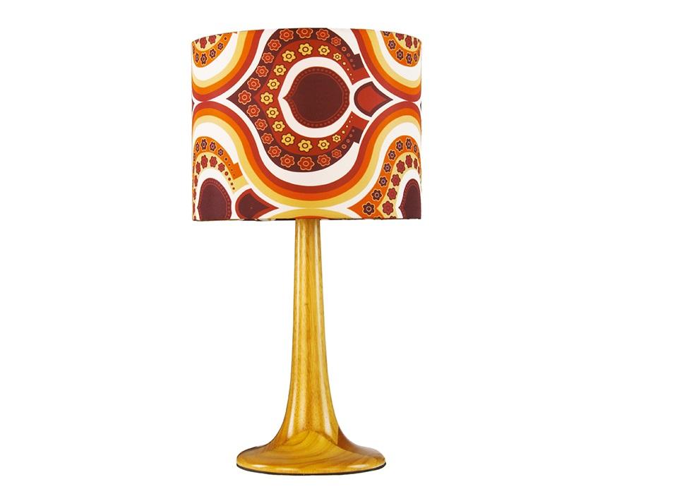 Настольная лампаДекоративные лампы<br><br><br>Material: Дерево<br>Height см: 45<br>Diameter см: 25