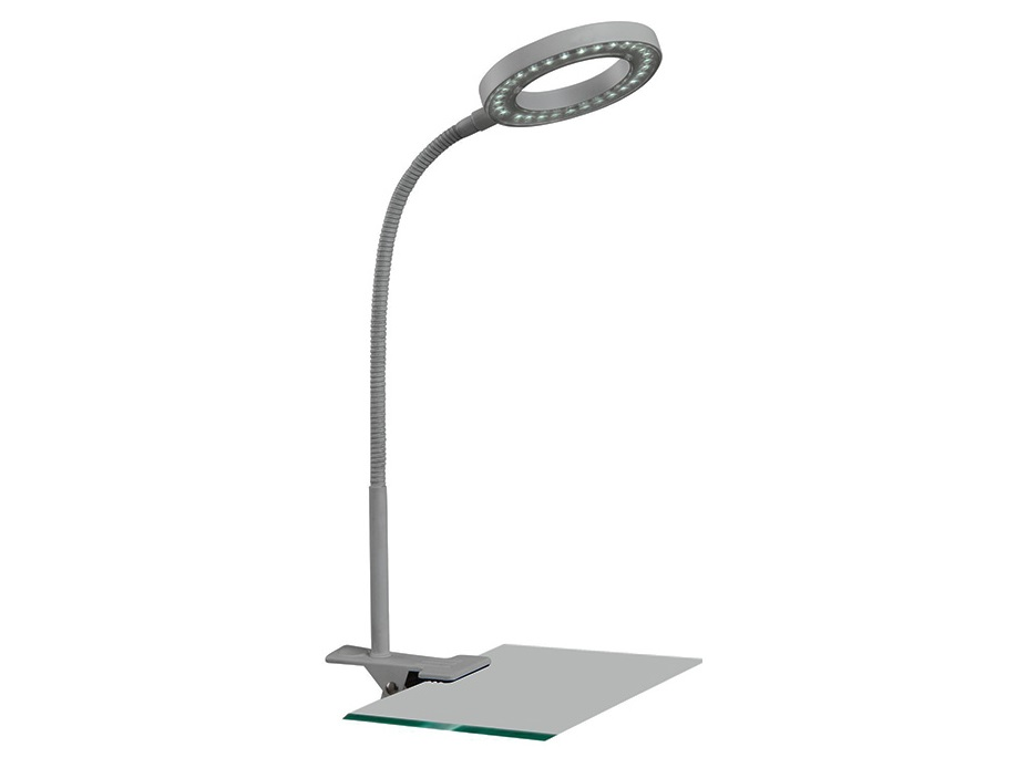 Настольная лампаНастольные лампы<br>&amp;lt;div&amp;gt;Цоколь: LED&amp;lt;/div&amp;gt;&amp;lt;div&amp;gt;Мощность: 2W&amp;lt;/div&amp;gt;&amp;lt;div&amp;gt;Количество ламп: 1&amp;lt;/div&amp;gt;<br><br>Material: Металл<br>Width см: 10<br>Depth см: 11<br>Height см: 46