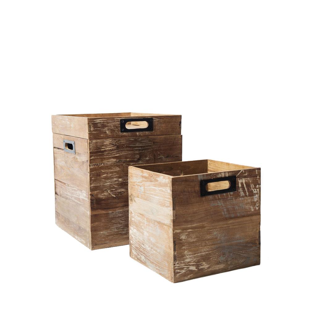 Набор Solo-2 (2 ящика и поднос)Ящики<br>Размер большой коробки: 45х50х40 см&amp;lt;div&amp;gt;Размер малой коробки: 32х35х30 см&amp;lt;/div&amp;gt;<br><br>Material: Тик<br>Length см: None<br>Width см: 45<br>Depth см: 40<br>Height см: 50<br>Diameter см: None
