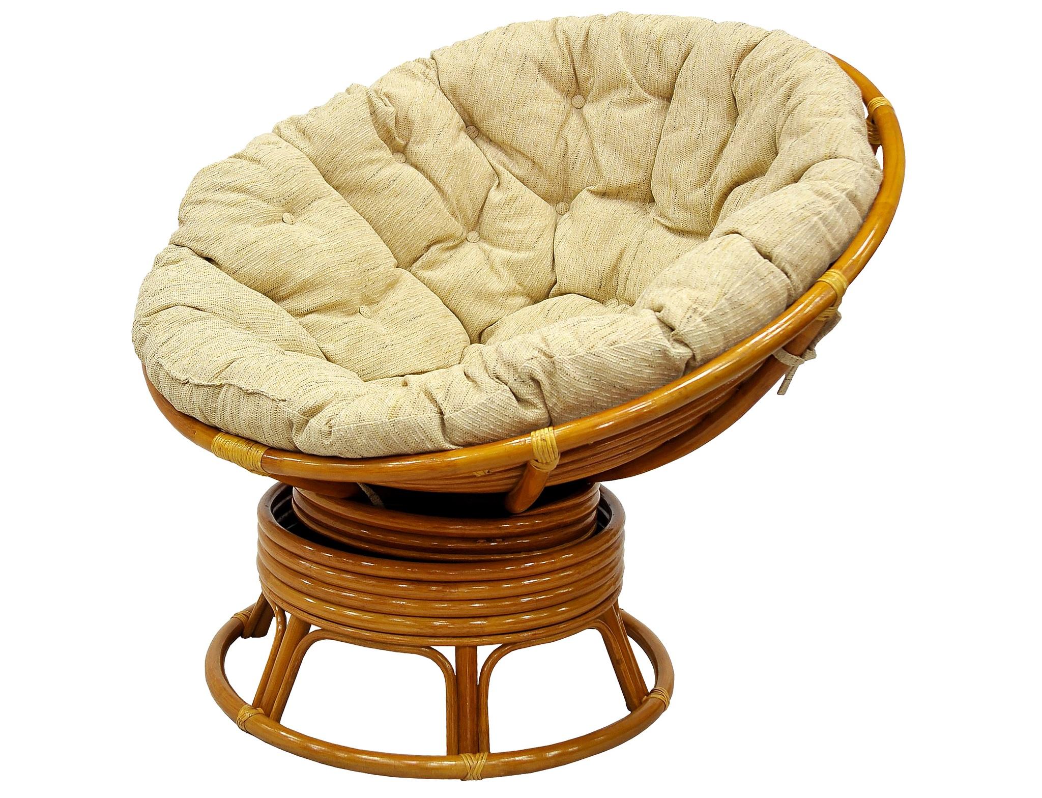 Кресло механическое PapasanКресла для сада<br>В кресло PAPASAN встроен специальный механизм с пружинами. Благодаря ему вы можете равномерно покачиваться и поворачиваться не вставая с кресла. Кресло выдерживает большой вес, оставаясь при этом легким и прочным. Идеально подходит при кормлении ребенка.&amp;lt;div&amp;gt;&amp;lt;br&amp;gt;&amp;lt;/div&amp;gt;&amp;lt;div&amp;gt;Материал: натуральный ротанг.&amp;lt;/div&amp;gt;&amp;lt;div&amp;gt;Материал подушки: рогожка /  шенилл (143).&amp;lt;/div&amp;gt;&amp;lt;div&amp;gt;Особенности: сборно-разборное, качается и вращается на 360 градусов.&amp;lt;/div&amp;gt;&amp;lt;div&amp;gt;Выдерживаемая нагрузка:  120 кг.&amp;lt;/div&amp;gt;<br><br>Material: Ротанг<br>Height см: 95<br>Diameter см: 115