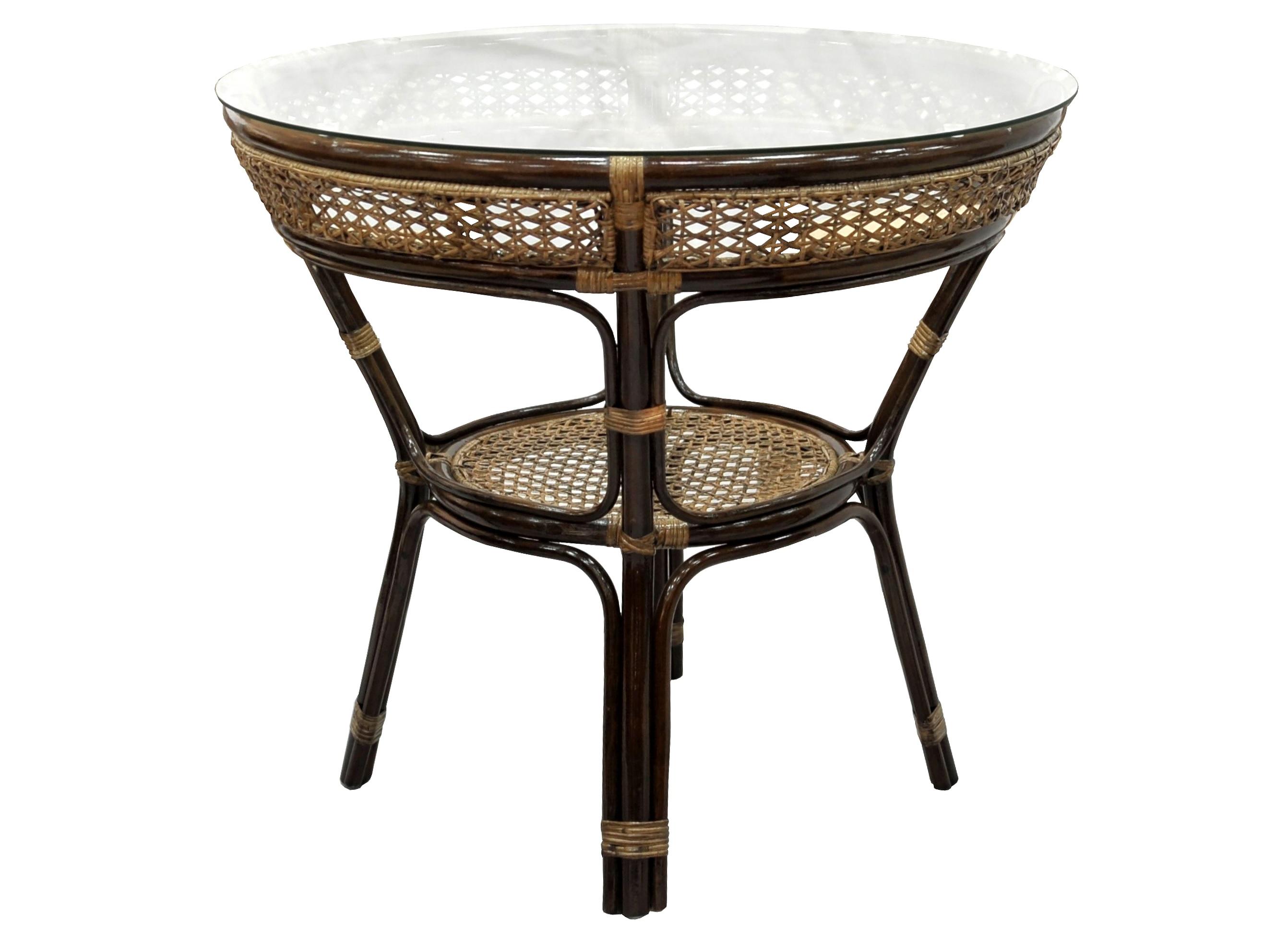 Стол обеденный JavaСтолы и столики для сада<br><br><br>Material: Ротанг<br>Height см: 75<br>Diameter см: 83