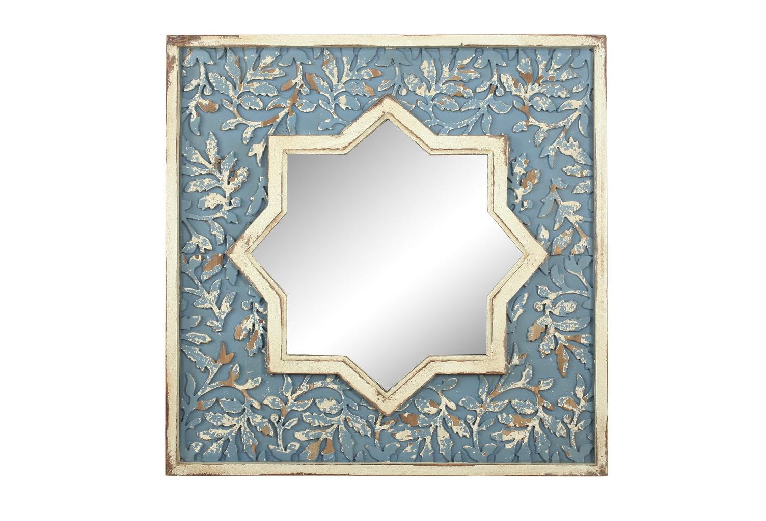 Зеркало настенноеНастенные зеркала<br><br><br>Material: Дерево<br>Ширина см: 71<br>Высота см: 71<br>Глубина см: 4