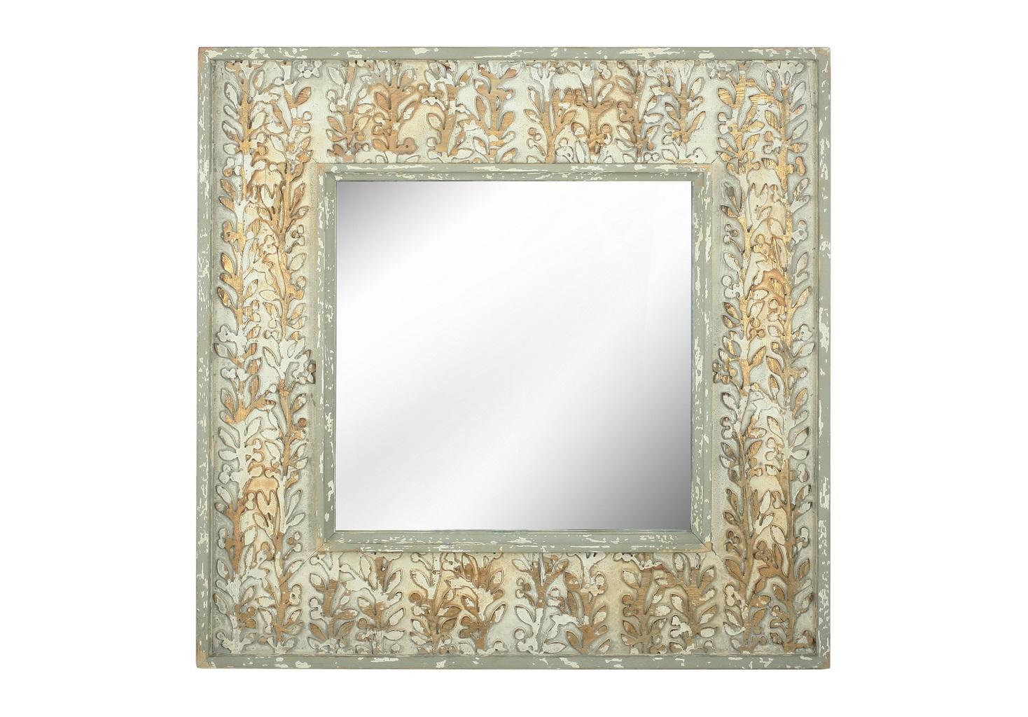 Зеркало настенноеНастенные зеркала<br><br><br>Material: Дерево<br>Ширина см: 93<br>Высота см: 93<br>Глубина см: 6