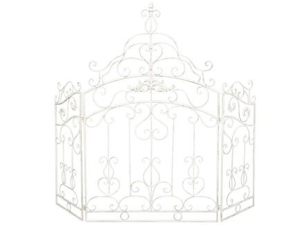Каминный экран «клермон» (object desire) белый 117.0x101.0 см.