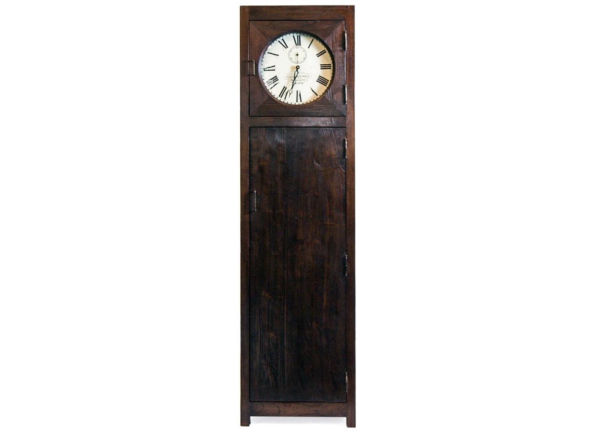 """Teak House Шкаф с часами """"Batavia""""  цена"""