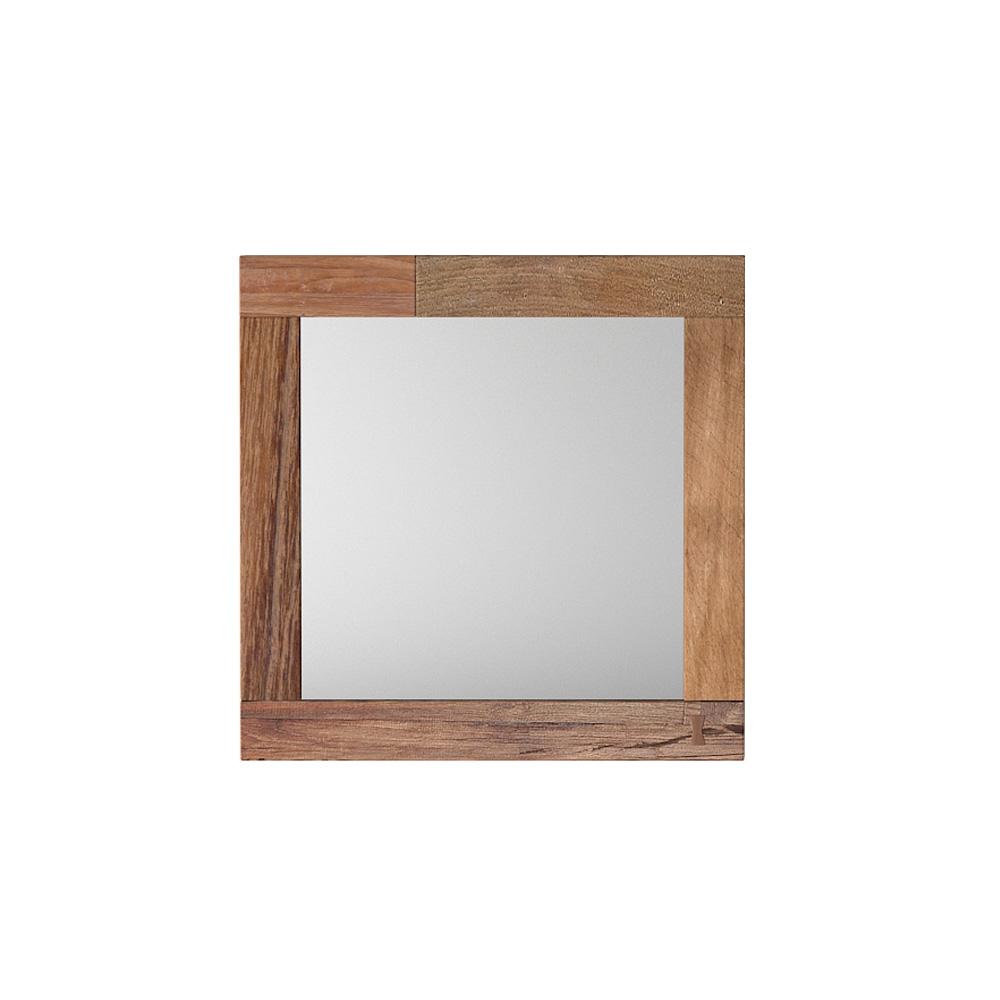 Зеркало Benary SQНастенные зеркала<br>&amp;lt;div&amp;gt;Зеркало Benary – образец стильного минимализма, для любителей строгих пропорций и точных цифр. Представляет собой квадрат со стороной 50 см.&amp;lt;/div&amp;gt;&amp;lt;div&amp;gt;Разноцветная рама светло-бежевых оттенков изготовлена из массива тика. Натурального, выросшего в джунглях Юго-восточной Азии. В процессе изготовления такой мебели не применяются химические пропитки, лаки и краски. Тиковой древесине всё это не требуется, так как она сама по себе успешно противостоит неблагоприятным факторам (влажность, температура, вредители).&amp;amp;nbsp;&amp;lt;/div&amp;gt;&amp;lt;div&amp;gt;Поэтому Benary не только привлекательный и эксклюзивный аксессуар, но и полезный, экологически чистый предмет обихода, который прослужит вам десятилетия.&amp;lt;/div&amp;gt;<br><br>Material: Тик<br>Length см: None<br>Width см: 50<br>Depth см: 3<br>Height см: 50<br>Diameter см: None