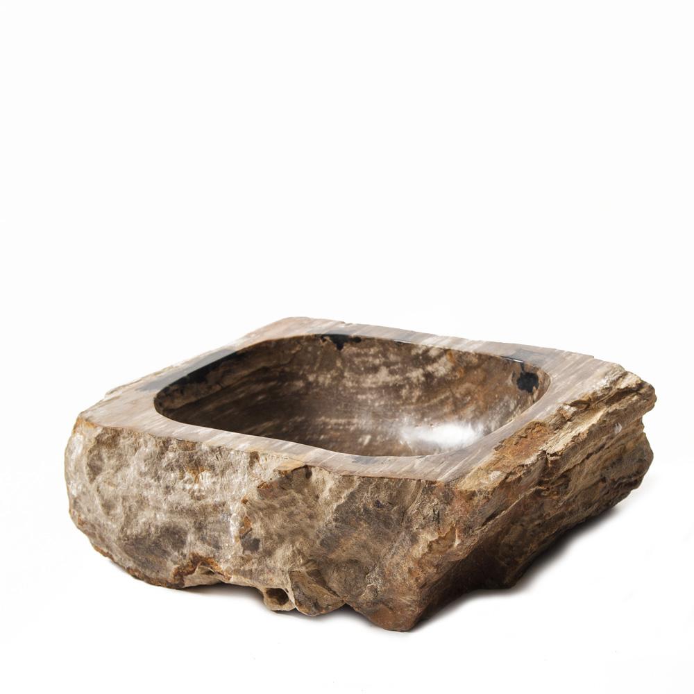 "Teak House Раковина из окаменелого дерева  ""Fossil Stone"" teak house шкаф платяной madura"