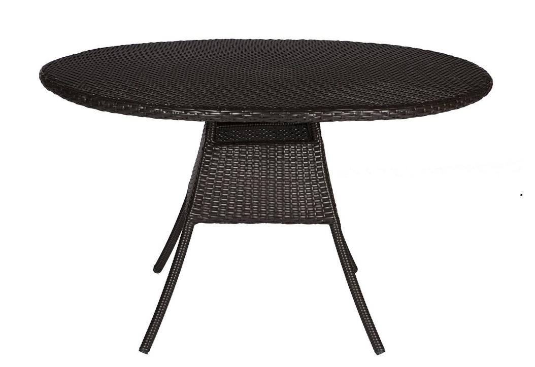 Стол TallaСтолы и столики для сада<br>Cтол выполнен из основательного алюминиевого каркаса вручную оплетенного синтетическим волокном,  обладает устойчивостью к суровым климатическими условиями, резким перепадам температуры, дождю и УФ-лучам.&amp;amp;nbsp;&amp;lt;div&amp;gt;&amp;lt;br&amp;gt;&amp;lt;div&amp;gt;Может быть выполнен в  цвете плетения : венге, серый, тигр.&amp;amp;nbsp;&amp;lt;/div&amp;gt;&amp;lt;div&amp;gt;В комплект входит каленое стекло.&amp;lt;/div&amp;gt;&amp;lt;/div&amp;gt;<br><br>Material: Искусственный ротанг<br>Высота см: 75