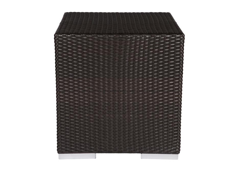 Хокер MoenaТабуреты для сада<br>Хокер выполнен из основательного алюминиевого каркаса вручную оплетенного синтетическим волокном,  обладает устойчивостью к суровым климатическими условиями, резким перепадам температуры, дождю и УФ-лучам.&amp;amp;nbsp;&amp;lt;div&amp;gt;&amp;lt;br&amp;gt;&amp;lt;/div&amp;gt;&amp;lt;div&amp;gt;Стол может быть выполнен в  цветах плетения : венге, жираф,тигр. &amp;lt;/div&amp;gt;<br><br>Material: Искусственный ротанг<br>Ширина см: 50<br>Высота см: 50<br>Глубина см: 50