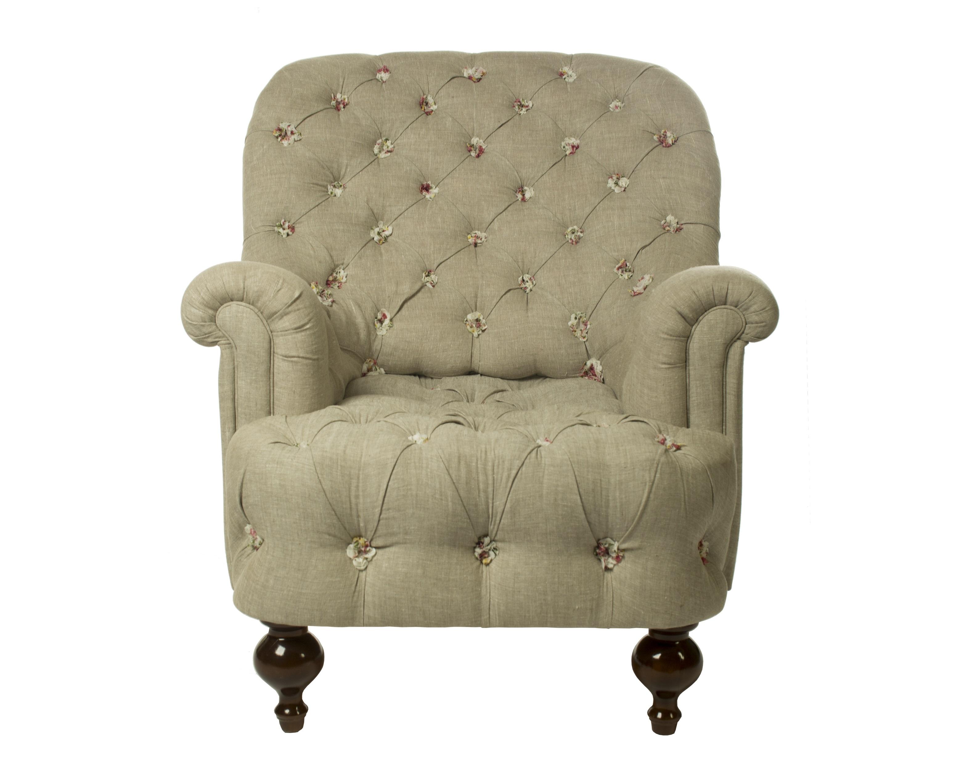 Кресло с каретной стяжкой Розы ПровансаИнтерьерные кресла<br>Стиль Жуи родом из Франции 8-го века. В ту пору стали модными одноцветные принты, изображающие поэтичные сценки из простой сельской жизни на белом или бежевом фоне. Мягкая мебедь Жуи Бордо отличается высоким качеством изготовления и станет прекрасным подарком или приобретением, для тех кто любит уют и стиль в стиле Кантри и Прованс.Коллекция мягкой мебели и текстиля, выполненного из ткани с единым орнаментом поможет Вам создать неповторимый дух Прованса, либо старой Англии в любом, даже небольшом помещении.Ткань, используемая для обивки мягкой мебели и изготовления текстиля. Удобное, стильное кресло Жюи Бордо, мягкая мебель прованс и кантри.&amp;lt;div&amp;gt;&amp;lt;br&amp;gt;&amp;lt;/div&amp;gt;&amp;lt;div&amp;gt;&amp;lt;span style=&amp;quot;font-size: 14px;&amp;quot;&amp;gt;100% хлопок&amp;lt;/span&amp;gt;&amp;lt;br&amp;gt;&amp;lt;/div&amp;gt;&amp;lt;div&amp;gt;Глубина сиденья -65 см.&amp;lt;/div&amp;gt;<br><br>Material: Хлопок<br>Ширина см: 99<br>Высота см: 87<br>Глубина см: 110