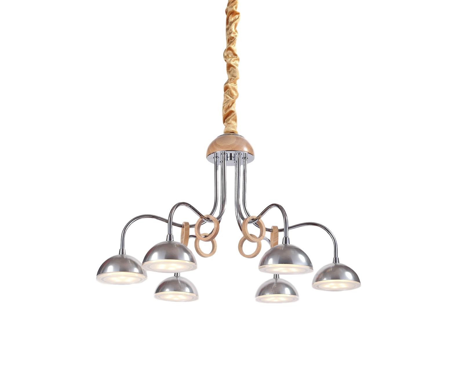 Люстра NaturaЛюстры подвесные<br>Материал: Дерево/металл/стекло<br>Design by Marco Rossini Italy<br>Источник света: LED 6*5W<br>Особенности:<br>  a) Низкое энергопотребление<br>  b) Яркое свечение по температуре оптимизировано под обычные лампочки накаливания<br>  c) Не нуждается в замене лампочек&amp;amp;nbsp;<br><br>Material: Дерево<br>Height см: 76<br>Diameter см: 53
