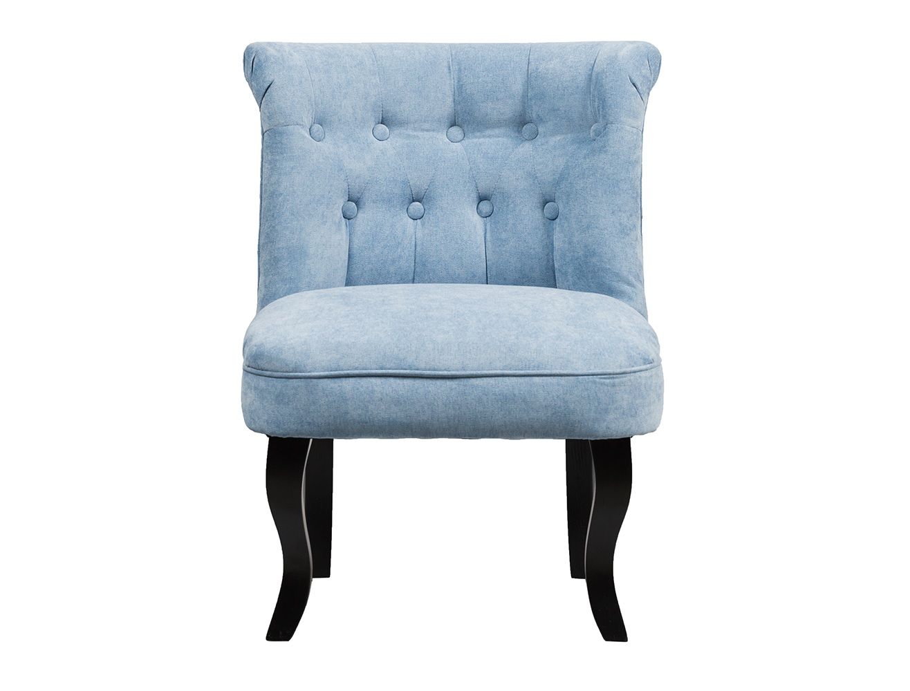 Кресло DawsonПолукресла<br>Кресло Dawson — неимоверно комфортное, удобное и красивое — выглядит так, словно вам его только что доставили из роскошного дома аристократической Франции. Богатая обивка, благородная форма деревянного каркаса самого предмета мебели, изящные ножки, нежный цвет — все говорит о его изысканности и шарме. Такое кресло непременно украсит ваш дом, добавив не только очарование и лоск, но и уют и тепло.<br><br>Material: Велюр<br>Ширина см: 56<br>Высота см: 73<br>Глубина см: 63