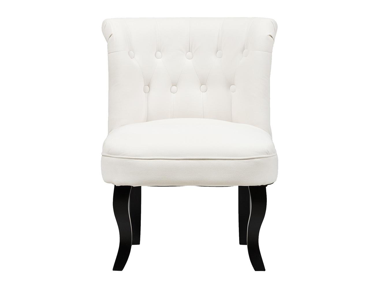 Кресло DawsonПолукресла<br>Кресло Dawson — неимоверно комфортное, удобное и красивое — выглядит так, словно вам его только что доставили из роскошного дома аристократической Франции. Богатая обивка, благородная форма деревянного каркаса самого предмета мебели, изящные ножки, нежный цвет — все говорит о его изысканности и шарме. Такое кресло непременно украсит ваш дом, добавив не только очарование и лоск, но и уют и тепло.<br><br>Material: Текстиль<br>Width см: 56<br>Depth см: 63<br>Height см: 73
