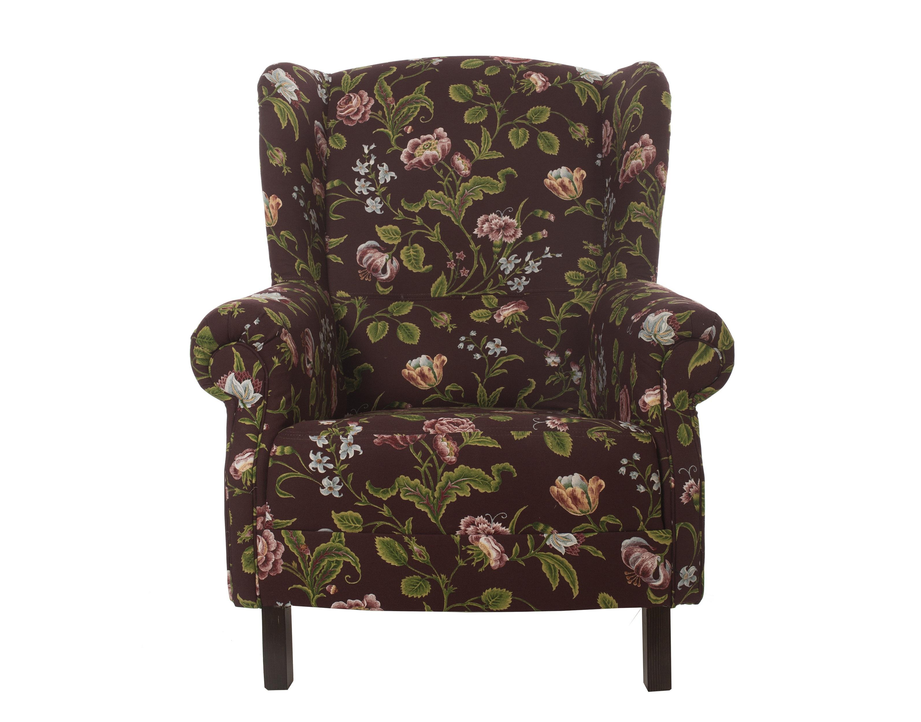 """Кресло с цветочным орнаментом """" Цветы Прованса"""""""