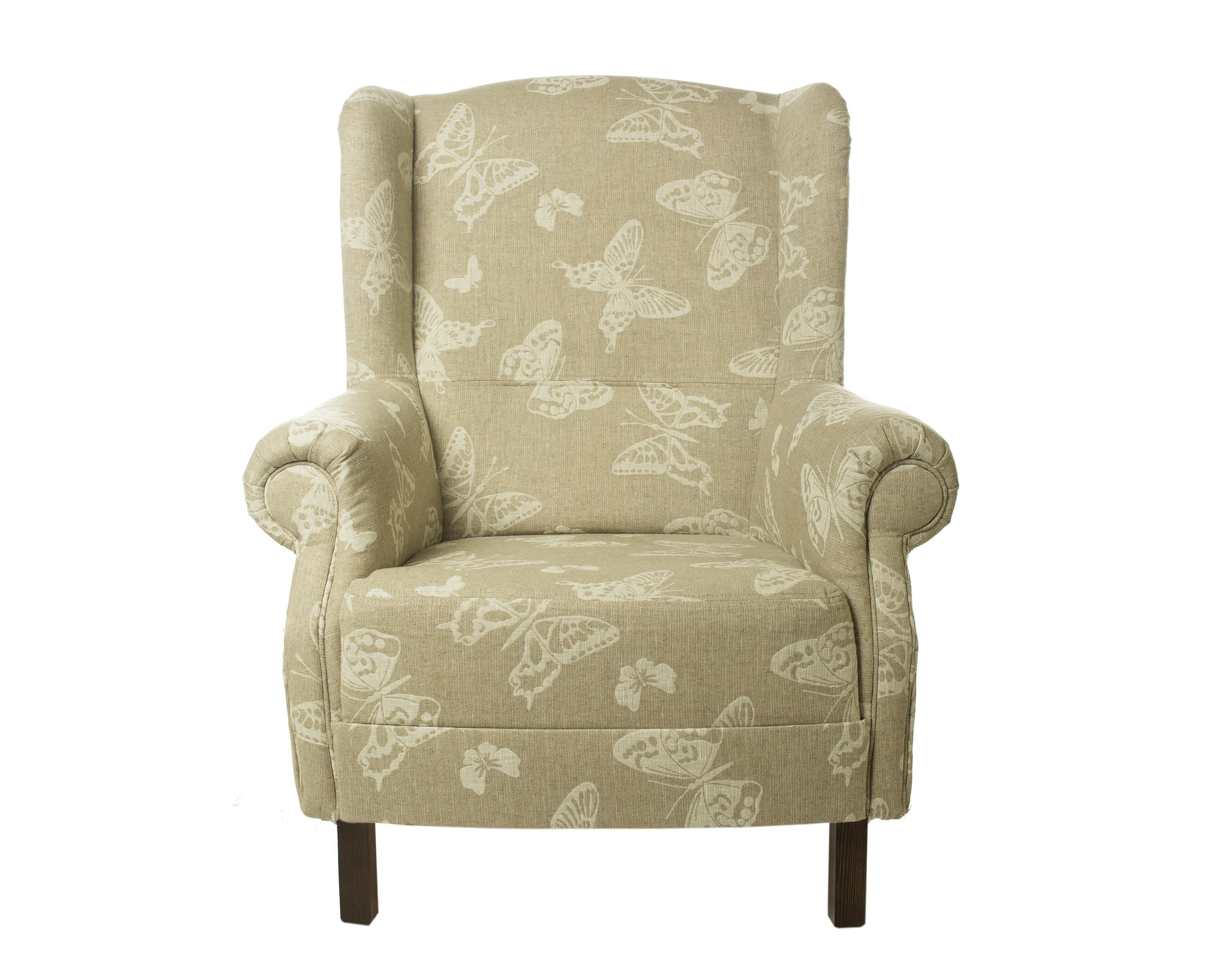 Кресло с орнаментом БабочкиКресла с высокой спинкой<br>Стиль Жуи родом из Франции 8-го века. В ту пору стали модными одноцветные принты, изображающие поэтичные сценки из простой сельской жизни на белом или бежевом фоне. Мягкая мебедь Жуи Бордо отличается высоким качеством изготовления и станет прекрасным подарком или приобретением, для тех кто любит уют и стиль в стиле Кантри и Прованс.Коллекция мягкой мебели и текстиля, выполненного из ткани с единым орнаментом поможет Вам создать неповторимый дух Прованса, либо старой Англии в любом, даже небольшом помещении.Ткань, используемая для обивки мягкой мебели и изготовления текстиля - 100% хлопок. Удобное, стильное кресло Жюи Бордо, мягкая мебель прованс и кантри. Рисунок - полоска.&amp;amp;nbsp;&amp;lt;div&amp;gt;&amp;lt;br&amp;gt;&amp;lt;/div&amp;gt;&amp;lt;div&amp;gt;Глубина сиденья -55 см.&amp;lt;/div&amp;gt;&amp;lt;div&amp;gt;&amp;lt;span style=&amp;quot;font-size: 14px;&amp;quot;&amp;gt;Материал: каркас из массива бука, пружинный, ткань - 100% хлопок.&amp;lt;/span&amp;gt;&amp;lt;br&amp;gt;&amp;lt;/div&amp;gt;<br><br>Material: Хлопок<br>Length см: None<br>Width см: 87<br>Depth см: 88<br>Height см: 100<br>Diameter см: None
