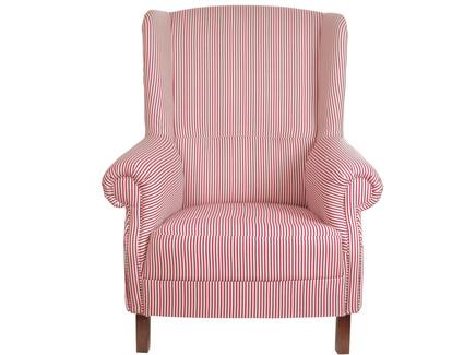 Кресло кантри (la neige) красный 87.0x100.0x88.0 см.