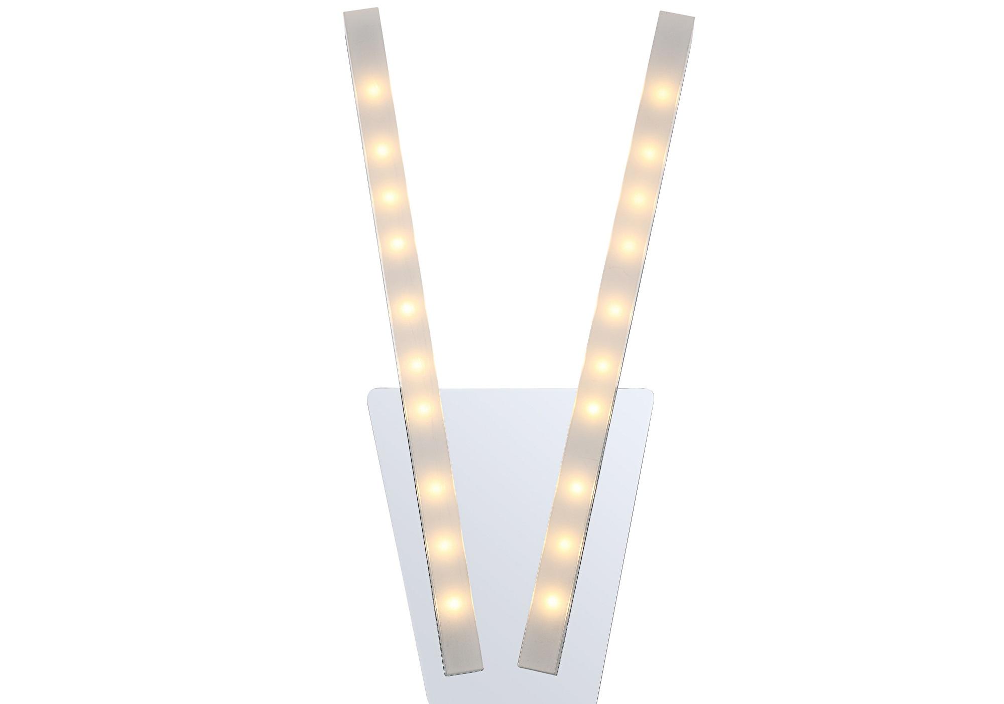 Светильник настенныйБра<br>&amp;lt;div&amp;gt;Вид цоколя: LED&amp;lt;/div&amp;gt;&amp;lt;div&amp;gt;Мощность: 5W&amp;lt;/div&amp;gt;&amp;lt;div&amp;gt;Количество ламп: 2&amp;lt;/div&amp;gt;&amp;lt;div&amp;gt;&amp;lt;br&amp;gt;&amp;lt;/div&amp;gt;&amp;lt;div&amp;gt;Материал: металл, акрил&amp;lt;/div&amp;gt;<br><br>Material: Металл<br>Width см: 19<br>Height см: 36
