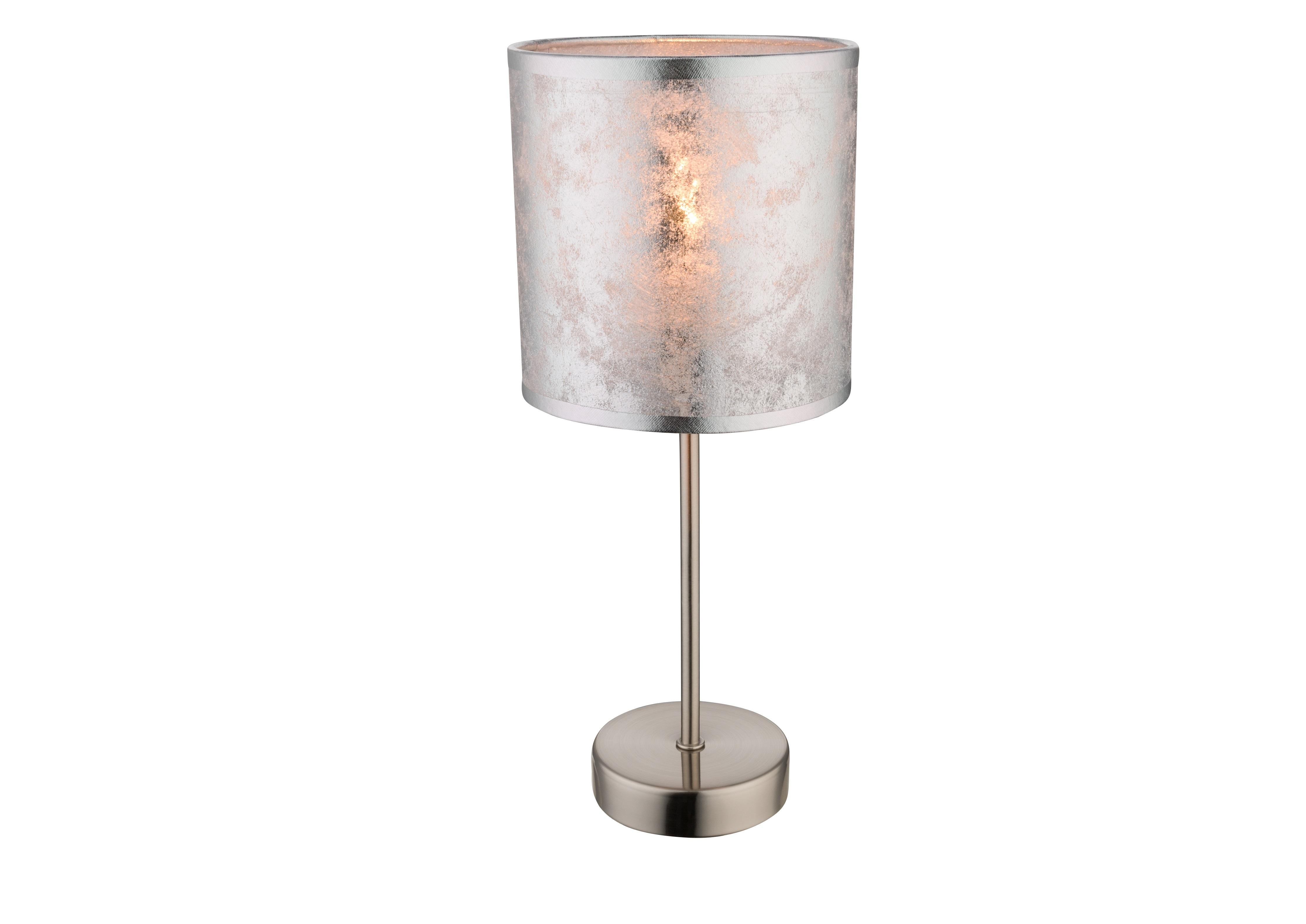 Настольная лампаНастольные лампы<br>&amp;lt;div&amp;gt;Вид цоколя: Е14&amp;lt;/div&amp;gt;&amp;lt;div&amp;gt;Мощность: 40W&amp;lt;/div&amp;gt;&amp;lt;div&amp;gt;Количество ламп: 1&amp;lt;/div&amp;gt;&amp;lt;div&amp;gt;&amp;lt;br&amp;gt;&amp;lt;/div&amp;gt;&amp;lt;div&amp;gt;Материал: металл, текстиль&amp;lt;/div&amp;gt;<br><br>Material: Металл<br>Height см: 35<br>Diameter см: 15