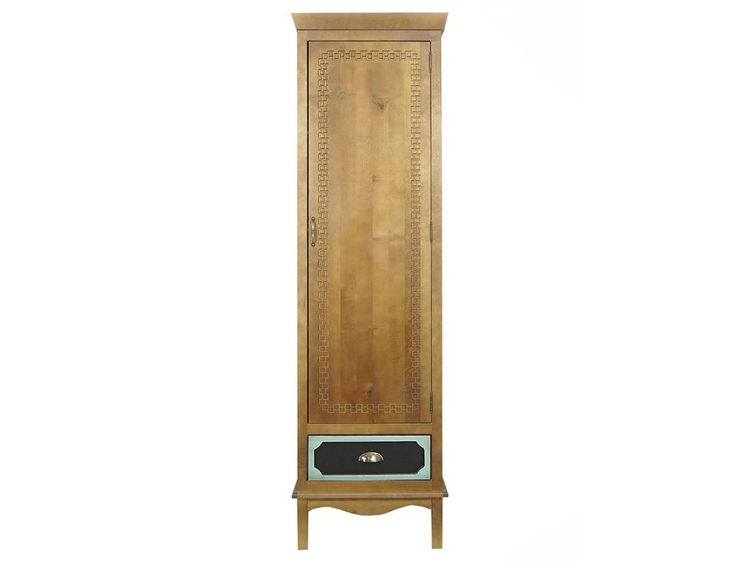 Шкаф одностворчатый Gouache BirchПлатяные шкафы<br><br><br>Material: Береза<br>Ширина см: 50<br>Высота см: 200<br>Глубина см: 60