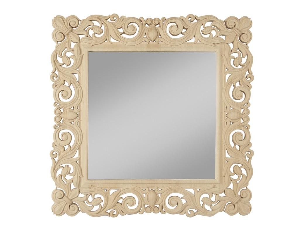 Зеркало AvgustaНастенные зеркала<br><br><br>Material: Бук<br>Width см: 58<br>Height см: 58