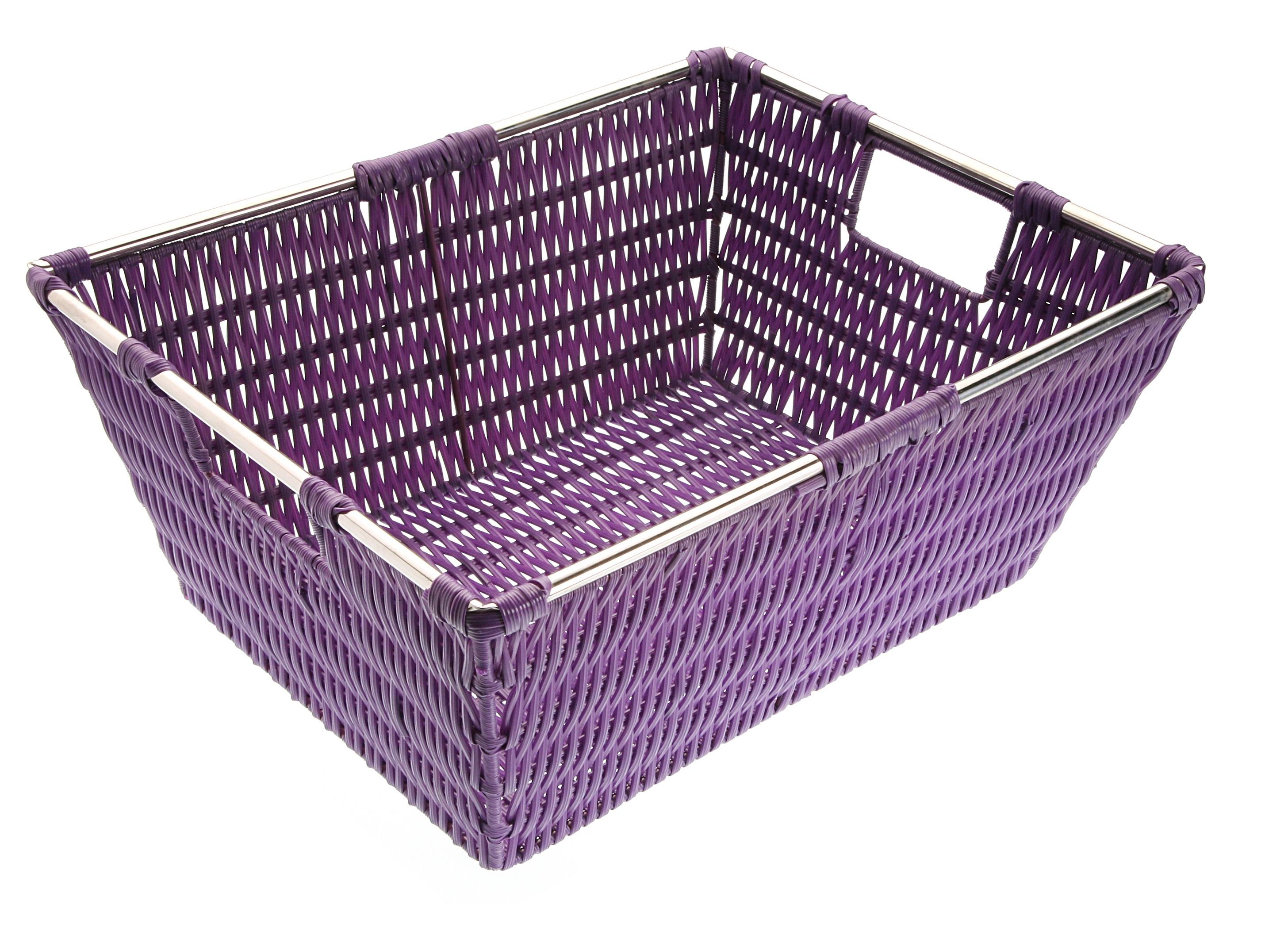 Большая корзина для храненияКорзины<br>&amp;lt;div&amp;gt;Материал: полиэстер&amp;lt;br&amp;gt;&amp;lt;/div&amp;gt;<br><br>Material: Пластик<br>Ширина см: 29<br>Высота см: 15<br>Глубина см: 37