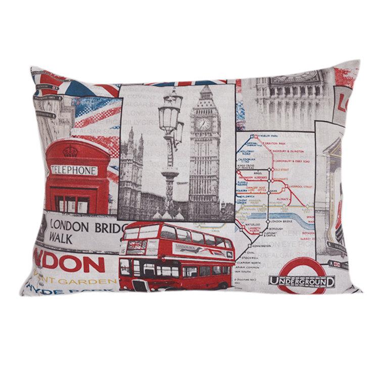 Подушка для сна ЛондонПрямоугольные подушки и наволочки<br>подушка для сна с наполнением из качественного холлофайбера, прочной ткани из хлопка, сладкий сон гарантирован<br><br>Material: Хлопок<br>Width см: 70<br>Depth см: 20<br>Height см: 50