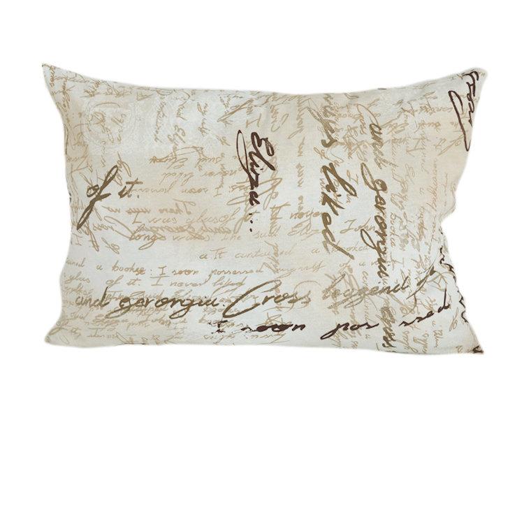 Подушка для сна ПисьмоПрямоугольные подушки и наволочки<br>подушка для сна с наполнением из качественного холлофайбера, прочной ткани из хлопка, сладкий сон гарантирован<br><br>Material: Хлопок<br>Width см: 70<br>Depth см: 20<br>Height см: 50