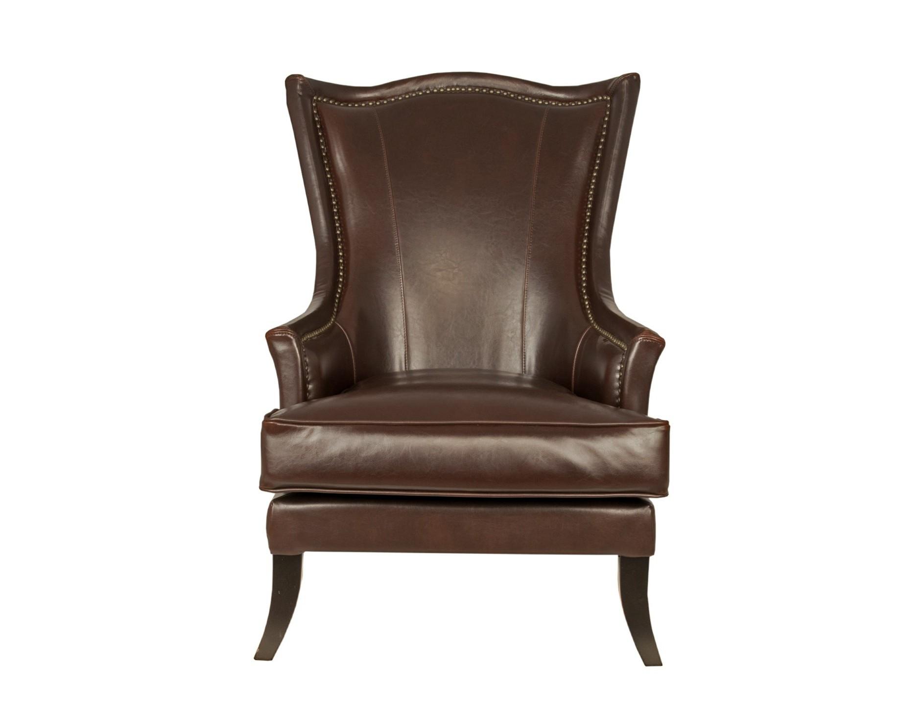 Кресло ChesterИнтерьерные кресла<br>Это необычное кожаное кресло прекрасно впишется в интерьер гостиной или кабинета. Кресло Chester воплотило в себе сдержанную элегантность и неброский шик. Высокая спинка позволяет удобно расположиться в кресле и спокойно отдохнуть.&amp;amp;nbsp;<br><br>Material: Кожа<br>Width см: 80<br>Depth см: 92<br>Height см: 112