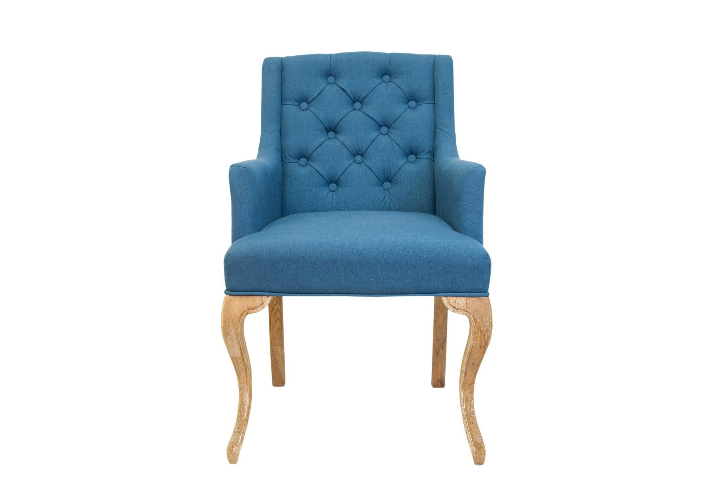 Кресло Deron blueПолукресла<br>Deron - это модель полукресла с низкой спинкой, текстильная обивка у него очень мягкая, приятная на ощупь. Передние ножки немного изогнуты, что придает изящества модели. Прекрасно впишется в интерьер как гостиной, так и столовой.&amp;amp;nbsp;<br><br>Material: Текстиль<br>Ширина см: 59<br>Высота см: 103<br>Глубина см: 65