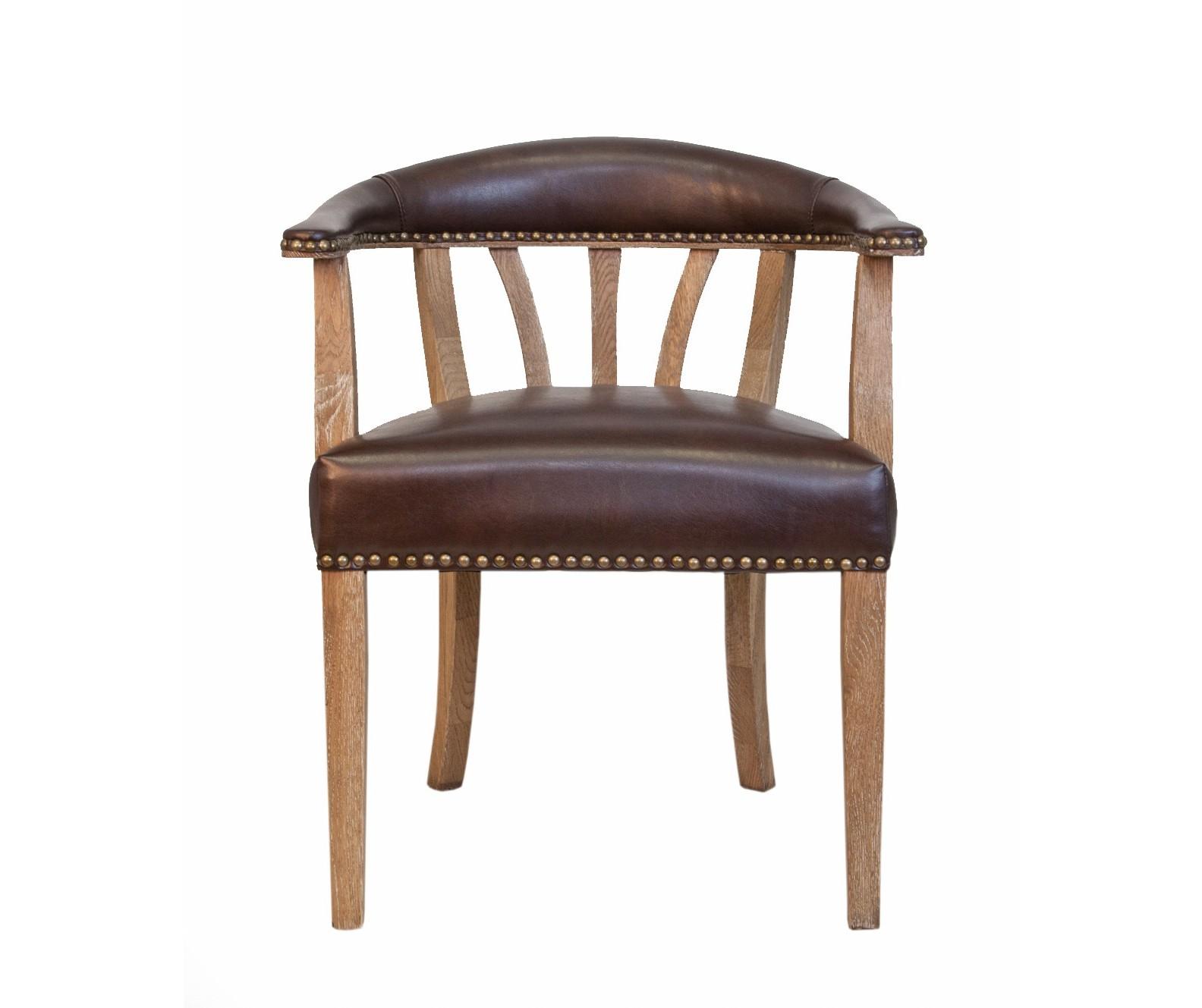 Полукресло tanner (mak-interior) коричневый 58x76x55 см. фото