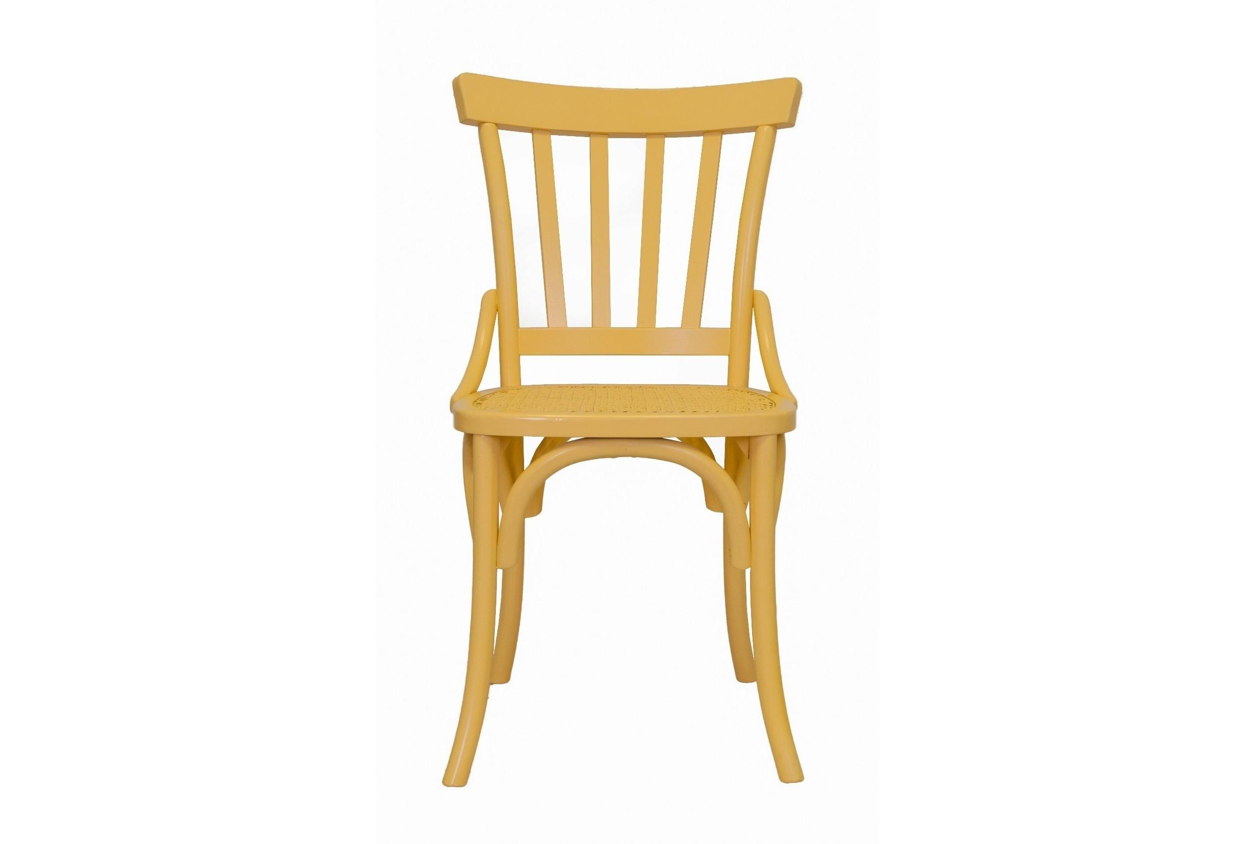 Стул Jax yellowОбеденные стулья<br>Такой яркий деревянный стул будет актуален для современного интерьера или стиля лофт. Он отлично подойдёт для дома, лоджии, сада, а также для кафе и баров. &amp;amp;nbsp;&amp;amp;nbsp;<br><br>Material: Береза<br>Ширина см: 51<br>Высота см: 88<br>Глубина см: 53