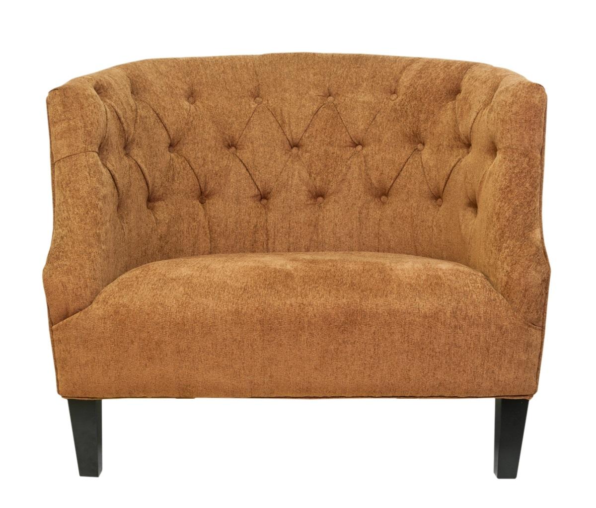 Широкое кресло SolioИнтерьерные кресла<br>Широкое кресло Solio покоряет своей волнистой спинкой и ее эффектной каретной стяжкой. Лаконичное и уютное, оно создаст спокойную и комфортную обстановку в интерьере.&amp;amp;nbsp;<br><br>Material: Текстиль<br>Width см: 110<br>Depth см: 90<br>Height см: 93