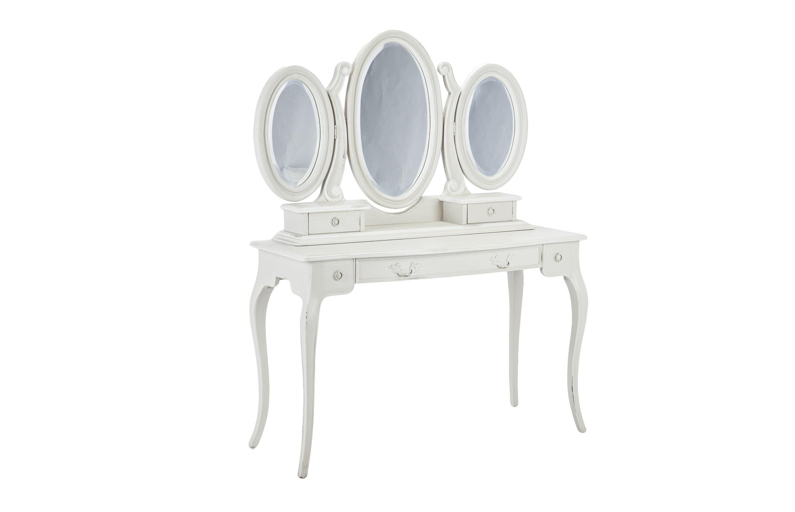 Туалетный стол ВерсальТуалетные столики<br>Изящный туалетный столик со старением. Три зеркала, три выдвижных ящика разных размеров.&amp;lt;div&amp;gt;&amp;lt;br&amp;gt;&amp;lt;/div&amp;gt;&amp;lt;div&amp;gt;Материал: махагони&amp;lt;br&amp;gt;&amp;lt;/div&amp;gt;<br><br>Material: Красное дерево<br>Width см: 120<br>Depth см: 47<br>Height см: 152