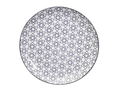 ТарелкаДекоративные тарелки<br>TOKYO – ведущая компания по производству посуды из фарфора и керамики. Особый дизайн и качественное исполнение делают ее востребованной и узнаваемой во всем мире.<br><br>Material: Фарфор<br>Diameter см: 25,7