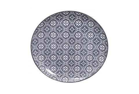 ТарелкаДекоративные тарелки<br>TOKYO – ведущая компания по производству посуды из фарфора и керамики. Особый дизайн и качественное исполнение делают ее востребованной и узнаваемой во всем мире.<br><br>Material: Фарфор<br>Diameter см: 20,6
