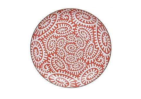 ТарелкаДекоративные тарелки<br>TOKYO – ведущая компания по производству посуды из фарфора и керамики. Особый дизайн и качественное исполнение делают ее востребованной и узнаваемой во всем мире.<br><br>Material: Фарфор<br>Diameter см: 21,5