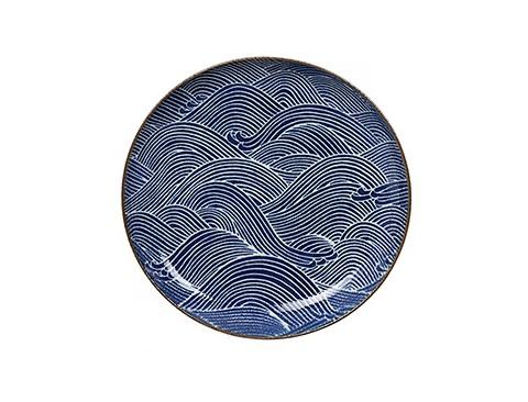 ТарелкаДекоративные тарелки<br>TOKYO – ведущая компания по производству посуды из фарфора и керамики. Особый дизайн и качественное исполнение делают ее востребованной и узнаваемой во всем мире.<br><br>Material: Фарфор<br>Diameter см: 15,6