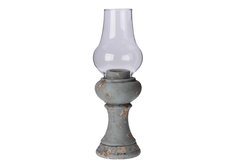Подсвечник Porto SantoПодсвечники<br>Материал: цемент, стекло<br><br>Material: Стекло<br>Ширина см: 10.0<br>Высота см: 33.0<br>Глубина см: 10.0