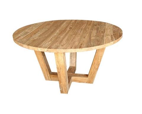 Стол DONAОбеденные столы<br>ROOMERS – это особенная коллекция, воплощение всего самого лучшего, модного и новаторского в мире дизайнерской мебели, предметов декора и стильных аксессуаров. Интерьерные решения от ROOMERS – всегда актуальны, более того, они - на острие моды. Коллекции ROOMERS тщательно отбираются и обновляются дважды в год специально для вас.&amp;lt;div&amp;gt;&amp;lt;br&amp;gt;&amp;lt;/div&amp;gt;<br><br>Material: Тик<br>Height см: 76<br>Diameter см: 110