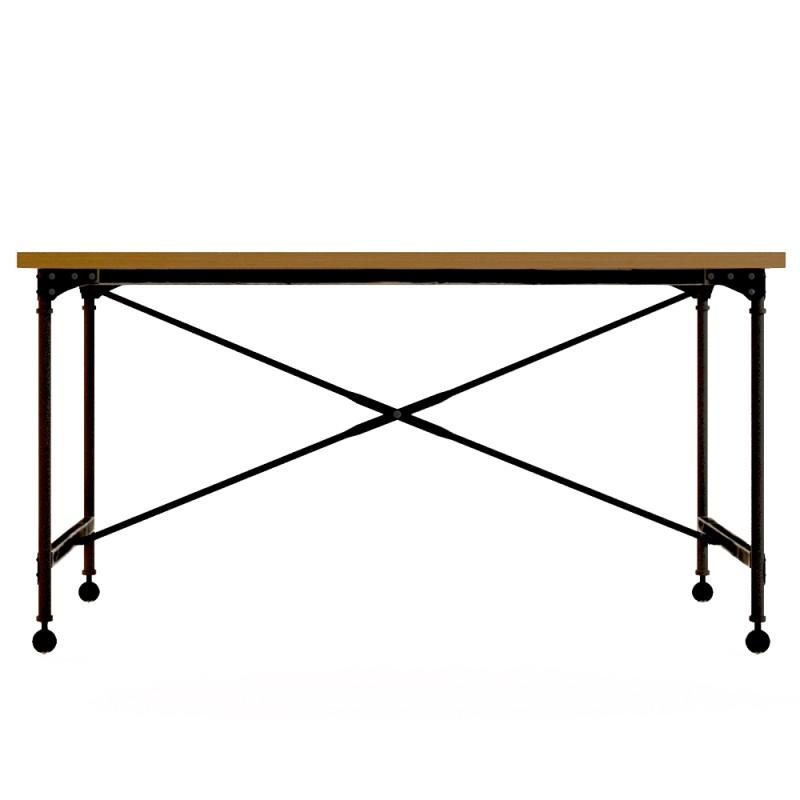 Рабочий стол IndustrialПисьменные столы<br><br><br>Material: Береза<br>Ширина см: 150<br>Высота см: 80<br>Глубина см: 70