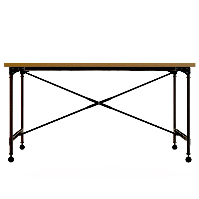 Рабочий стол IndustrialПисьменные столы<br><br><br>Material: Береза<br>Width см: 150<br>Depth см: 70<br>Height см: 80